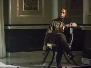 Denzel Washington in The Equalizer Movie